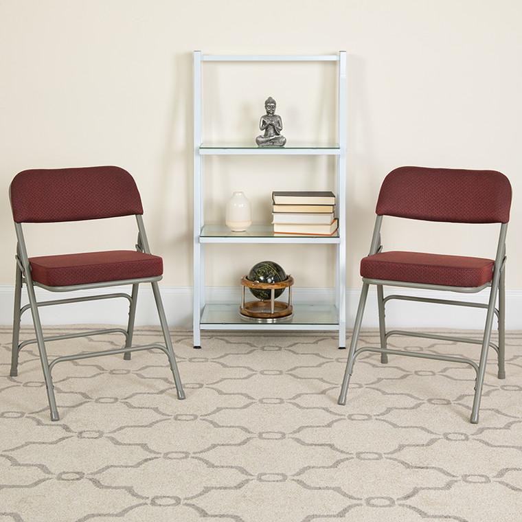 Padded Metal Folding Chair
