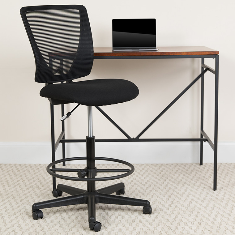 Contemporary Drafting Chair for Home Office or Professional Workspace