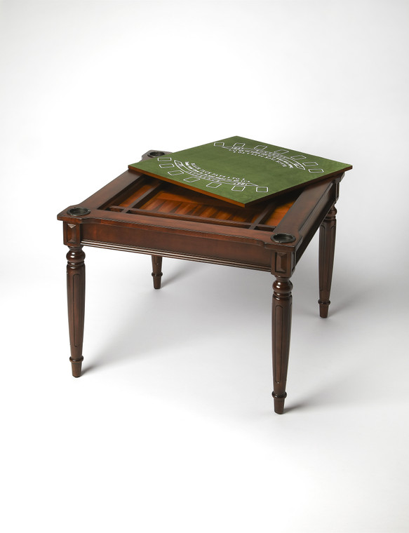 Butler Vincent Plantation Cherry Multi-Game Card Table