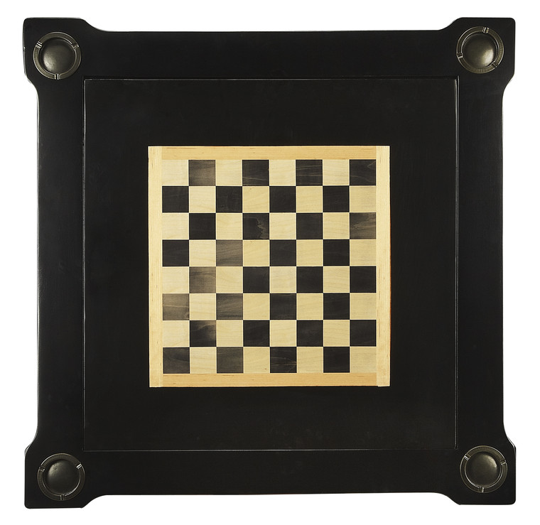 Butler Vincent Black Licorice Multi-Game Card Table