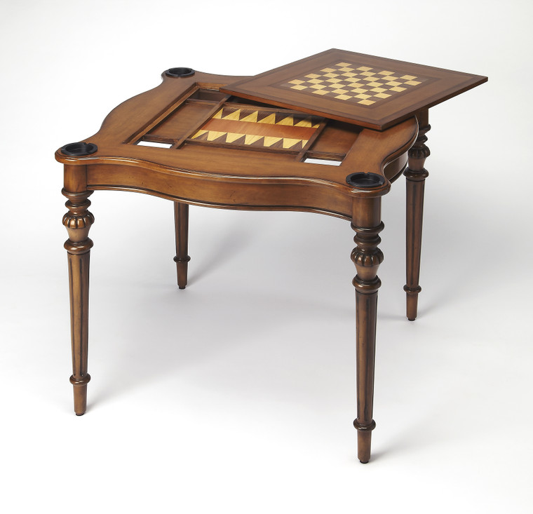 Butler Eastwick Antique Cherry Game Table