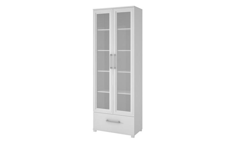 Manhattan Comfort Serra 1.0- 5- Shelf Bookcase in White