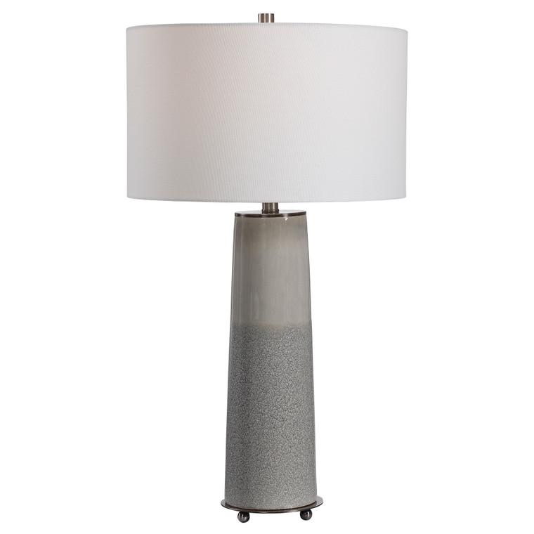 Uttermost Abdel Gray Glaze Table Lamp