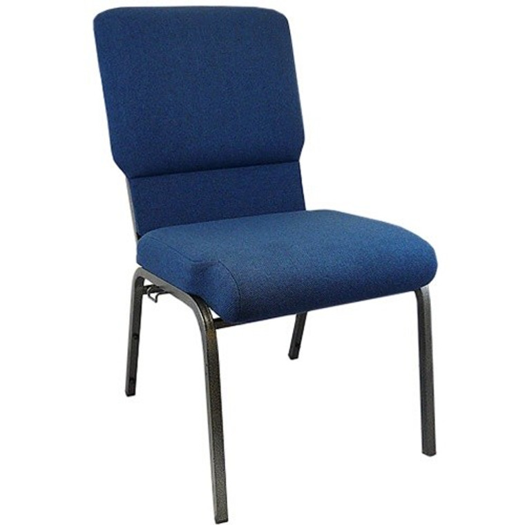 Multipurpose Church Chair with Book Rack