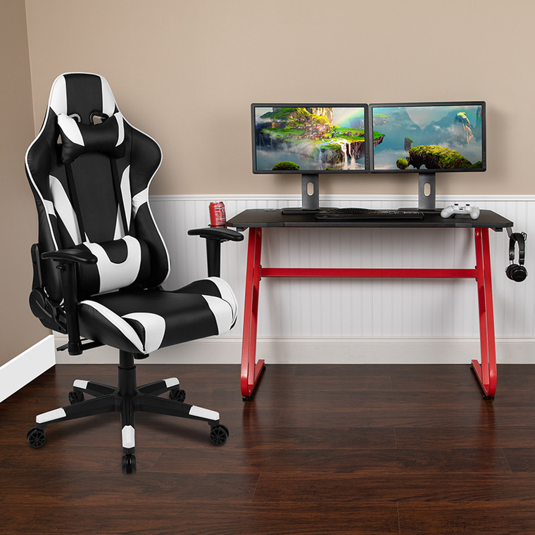 Gaming Desk and Chair Bundle
