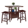 Albany 3-pc Set High Table w/ Counter Stools  94753