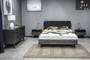 Mohave 3 Piece Acacia Queen Bed and Nightstands Bedroom Set