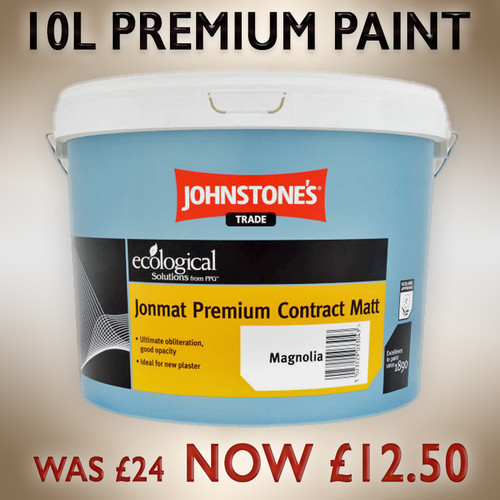 Johnstone's paint to clear
