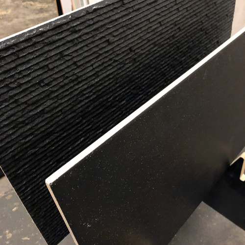 Discounted black porcelain tiles
