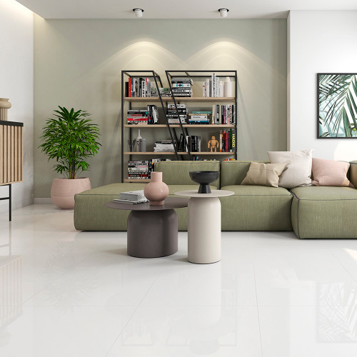 Ice White Porcelain Tiles in Liverpool