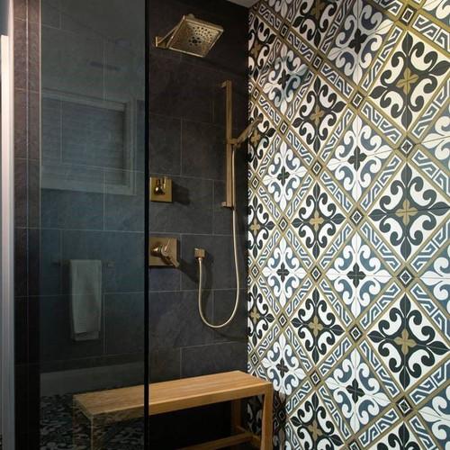 Black Porcelain Tiles in Liverpool