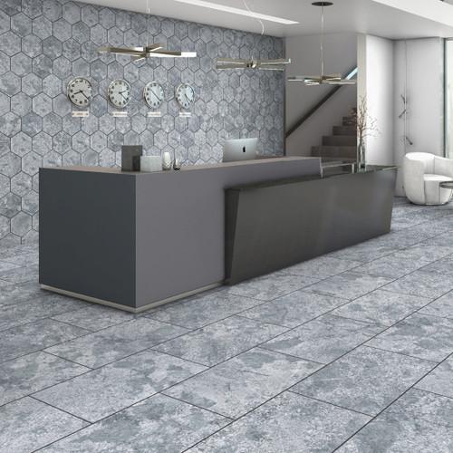 Grey Hexagon Tiles Liverpool
