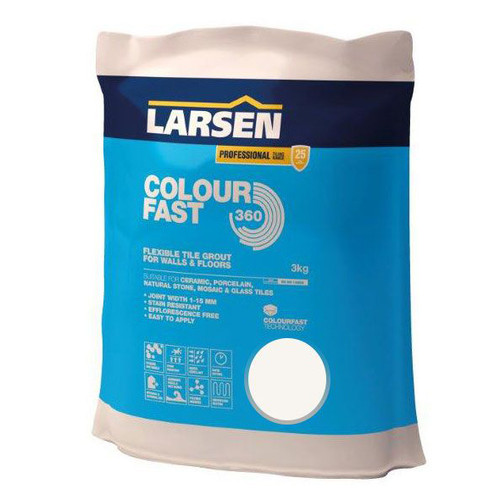 Flexible Colour Fast Ivory Grout