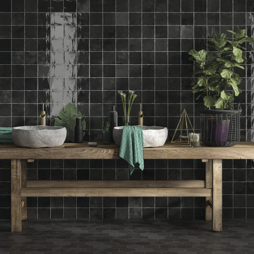 Black Ceramic Wall Tiles Liverpool
