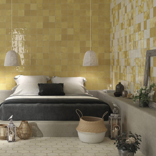 Ocre Ceramic Wall Tiles Liverpool