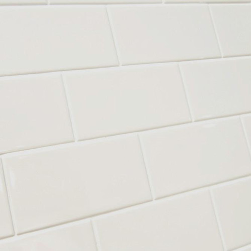 Cream Flat Gloss Brick Format Tiles in Liverpool