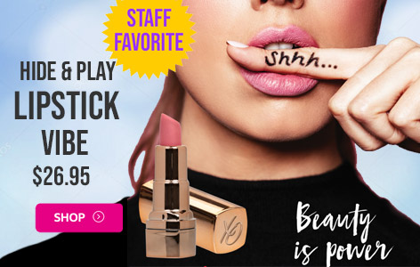 Hide and Play Rechargeable Lipstick Vibrator