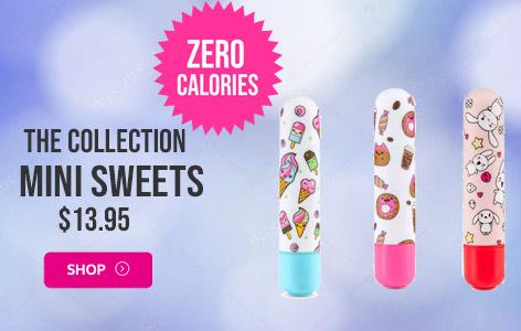 Mini Sweets Vibrating Bullets