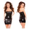 Kissable Kitten Wet Look Dress