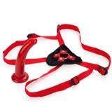 Red Rider Harness and Dildo Attachment