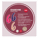 Fun Factory Share Vibrating Strapless Dildo - Details