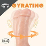 """Dr. Spin 7"""" Gyrating Realistic Dildo"""
