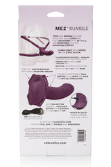 Me2 Rumble Silicone Strap-On Probe Details