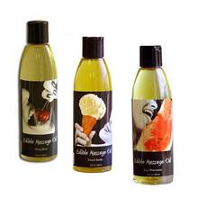 Flavored Edible Massage Oils