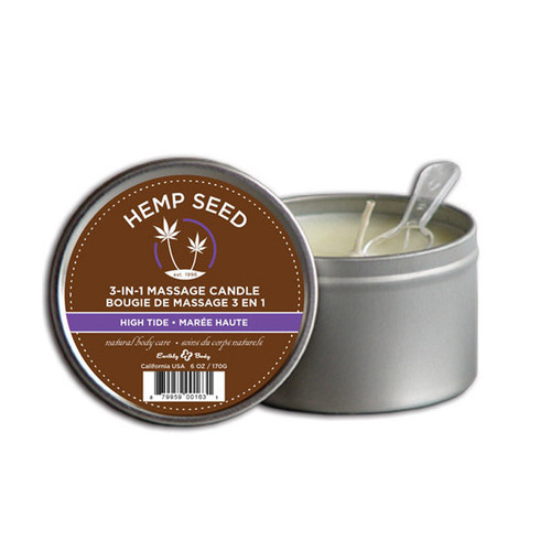 Earthly Body 3 in 1 Hemp Candles