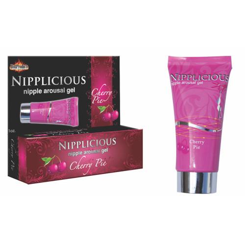 Nipplicious Nipple Arousing Gel - Cherry Pie