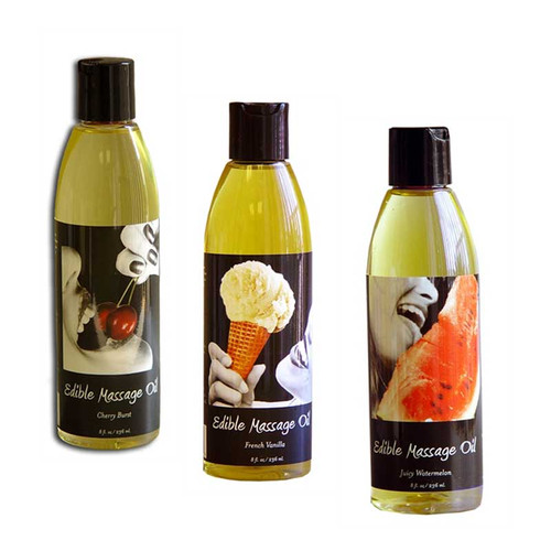 Flavored Edible Massage Oils