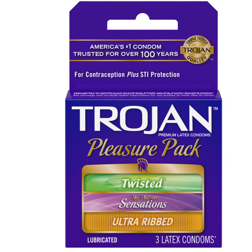 Trojan Pleasure Pack - 3 Pack