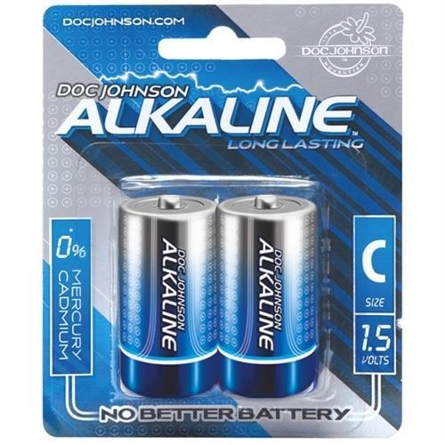 Doc Johnson Alkaline C Batteries 2-Pack