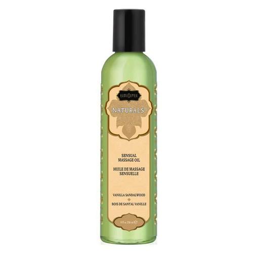 Kama Sutra Naturals Massage Oil - Vanilla Sandalwood