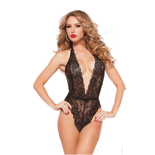 Floral Lace Teddy