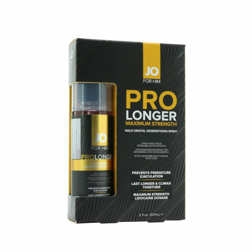 Jo For Him Pro Longer Maximum Strength Desensitizing Spray 2 Ounce