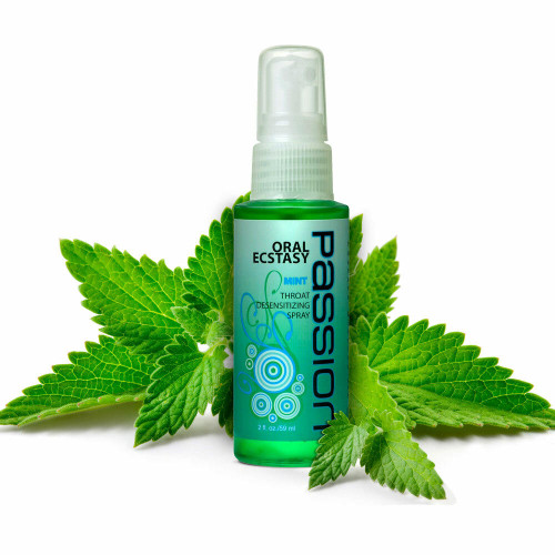 Oral Ecstasy Mint Flavored Deep Throat Numbering Spray