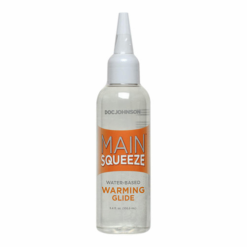Doc Johnson Main Squeeze Water Based Warming Lube