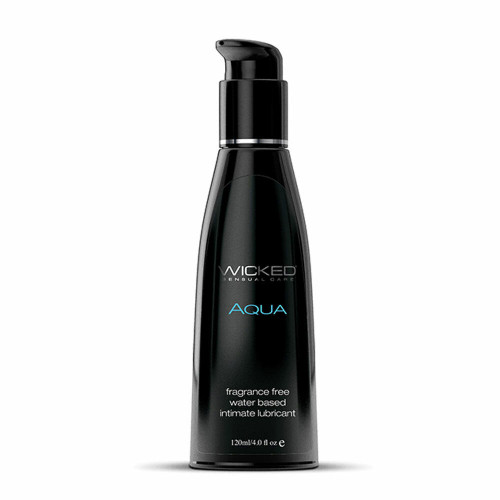 Wicked Aqua Water Based Lubricant Fragrance Free