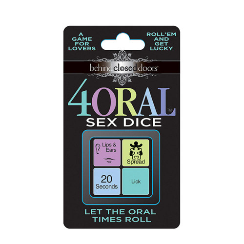 Behind Closed Doors - 4 Oral Sex Dice
