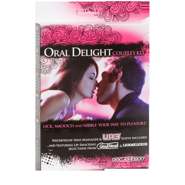 Oral Delight Couples Kit Box