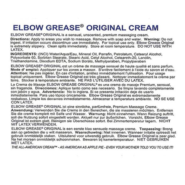 Elbow Grease Original Cream Formula