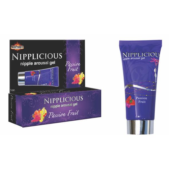 Nipplicious Passion Fruit Flavored Nipple Arousing Gel