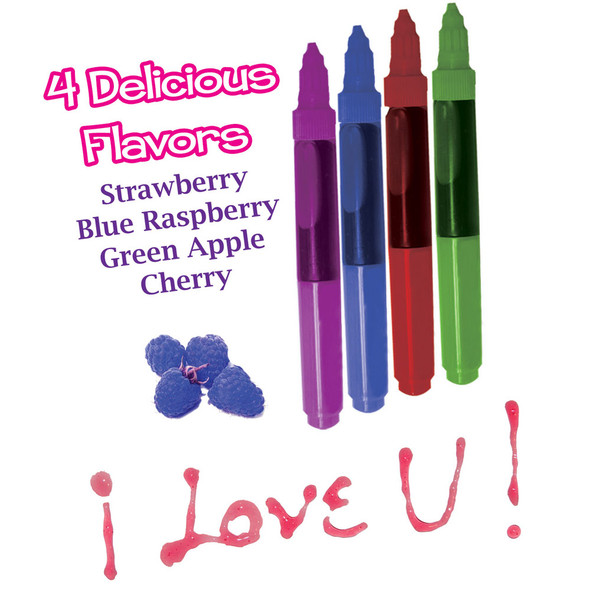 Play Pens Edible Body Paint in Four Flavors