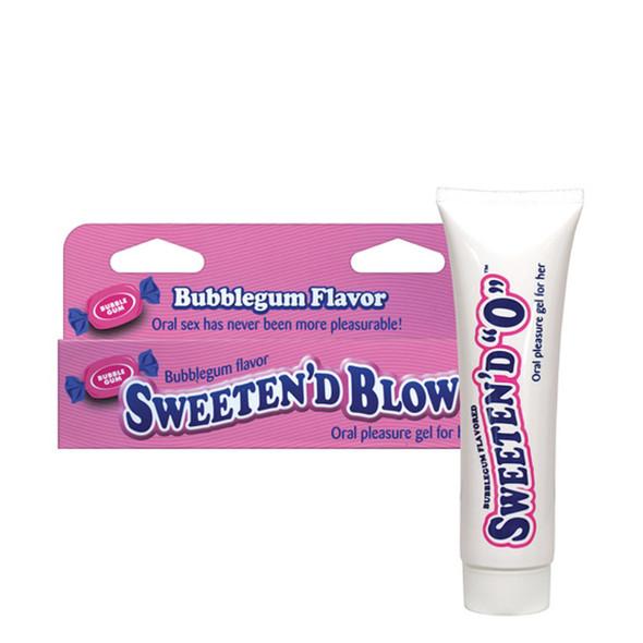 Sweeten D Blow Flavored Oral Pleasure Gel 1.5oz - Bubblegum