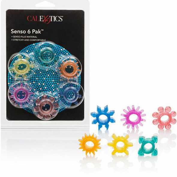 Senso 6 Pack Erection Rings
