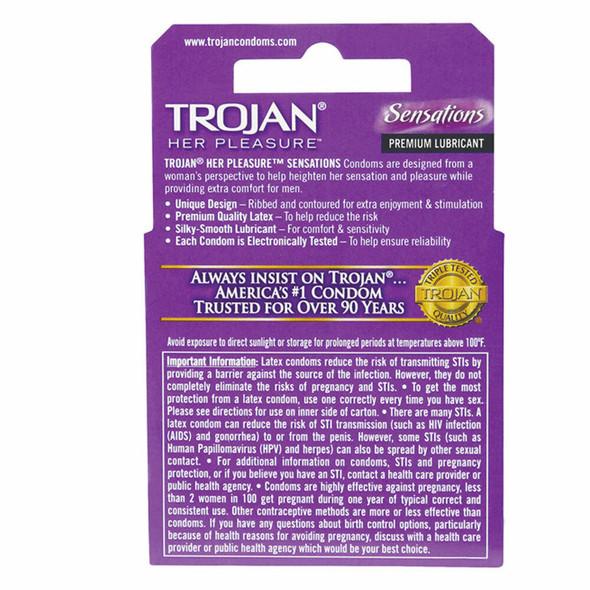 Her Pleasure Sensation Condoms Details