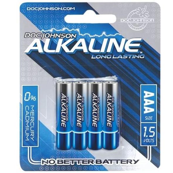 Doc Johnson Alkaline AAA Batteries 4-Pack