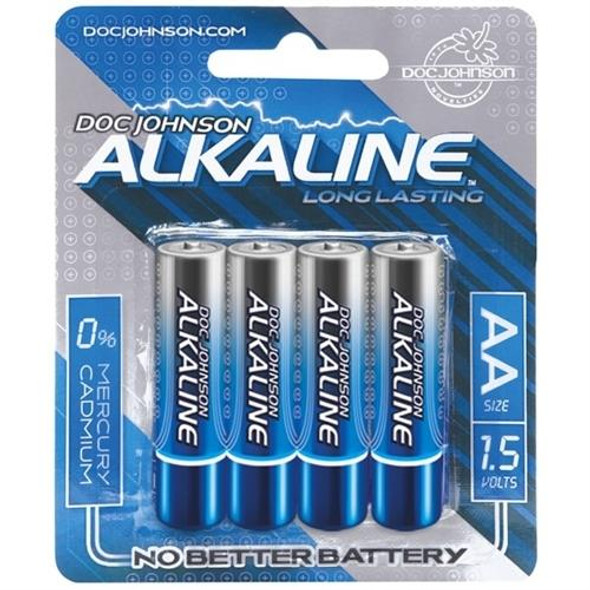 Doc Johnson Alkaline AA Batteries 4-Pack