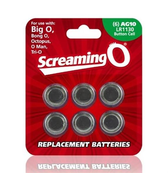 Batteries AG 10 6 Pack